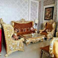 King Sofa Tamu Ukir Belagio Super