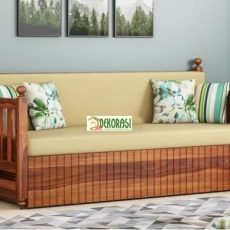 Sofa Bed Minimalis Kayu