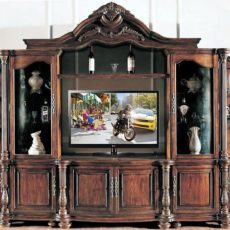 Buffet TV Hias Kayu Jati